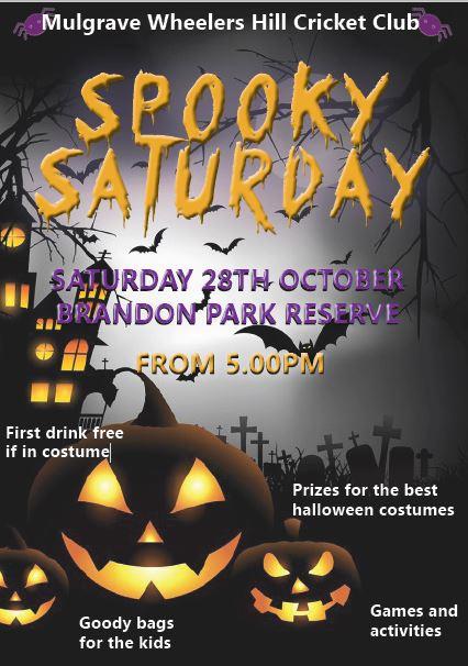 October spooky saturdays flyer dolapgnetband october spooky saturdays flyer malvernweather Gallery